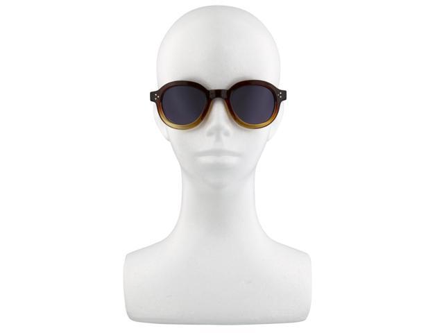 e50db19e68 Designer Vintage Fashion Sunglasses Sunnies Steampunk Thick Frame Brown Fade