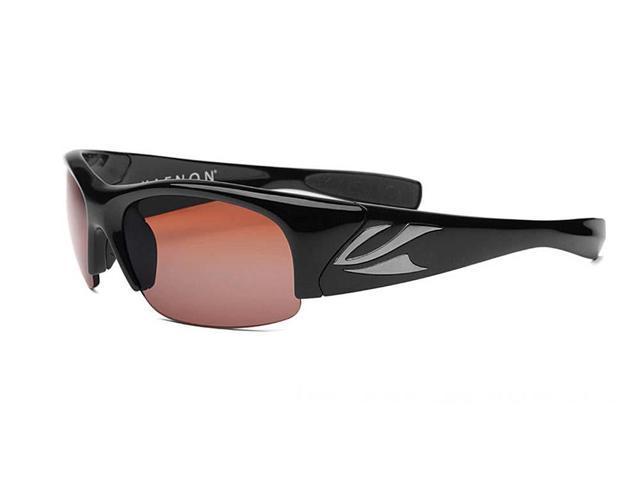 aefbb84071 Kaenon Hard Kore Black 007-01-C12-02 Polarized Copper Sunglasses W