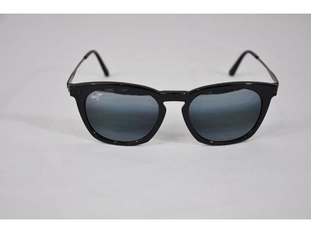 9821fa48dad Maui Jim Holoholo 262-02 Grey Lens Gloss Black Frame Polarized Sunglasses