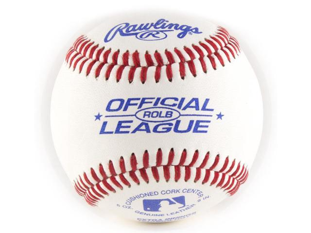 Rawlings RLLB Little League Baseballs - 12 Pack - Newegg com