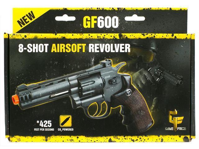 f3497df37c7 Crosman Game Face ACG357 Airsoft Revolver GF600 - Newegg.com