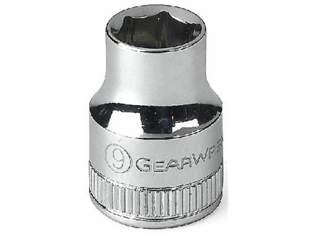 GearWrench 84575N 1//2 Drive 6 Point Deep Impact Socket 17mm