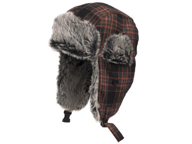 MANHATTAN TRAPPER Casual Ushanka Trooper Pilot AVIATOR Soft Faux Fur Hat  Men and Women 7 5 48c16393db98