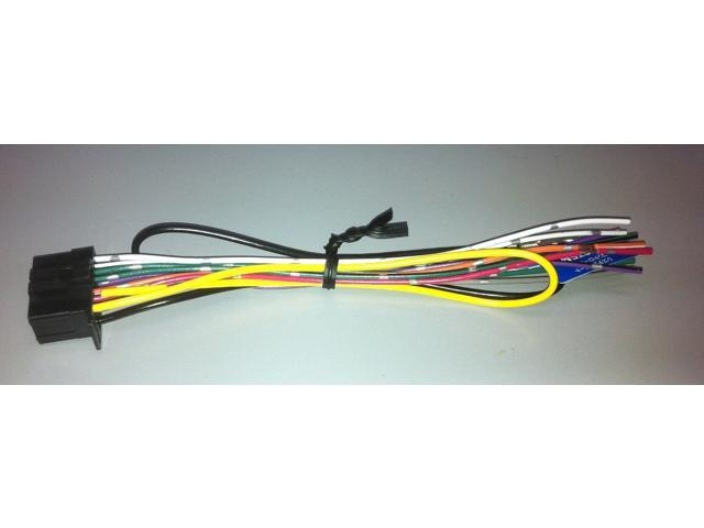 Pioneer Power Wire Harness for Select Pioneer Car Stereos QDP3013 ...