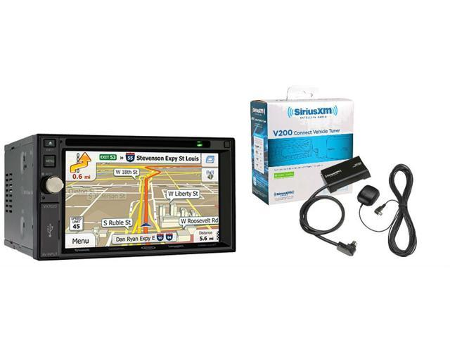 Jensen VX7020 Double Din Navigation DVD/CD Receiver with 6.2