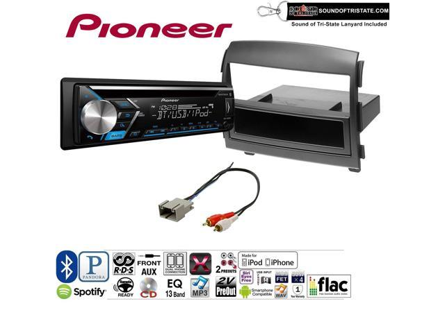 Pioneer DEHS4010BT Double Din Radio Install Kit with Bluetooth, CD Player,  USB/AUX Fits 2006-2008 Hyundai Sonata(NON AMPLIFIED ONLY) and a SOTS