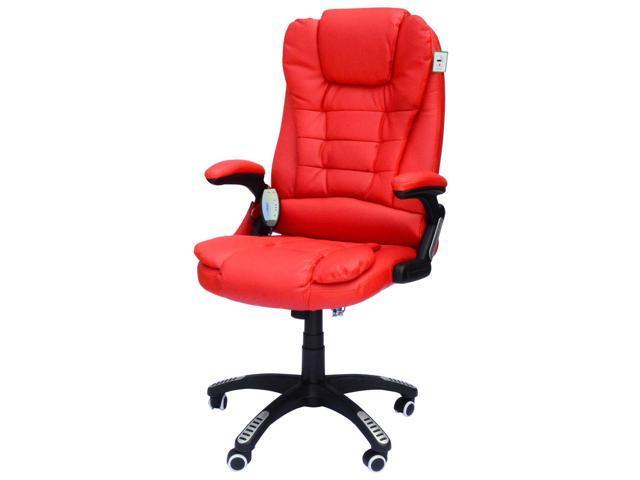 Executive Ergonomic Pu Leather Heated
