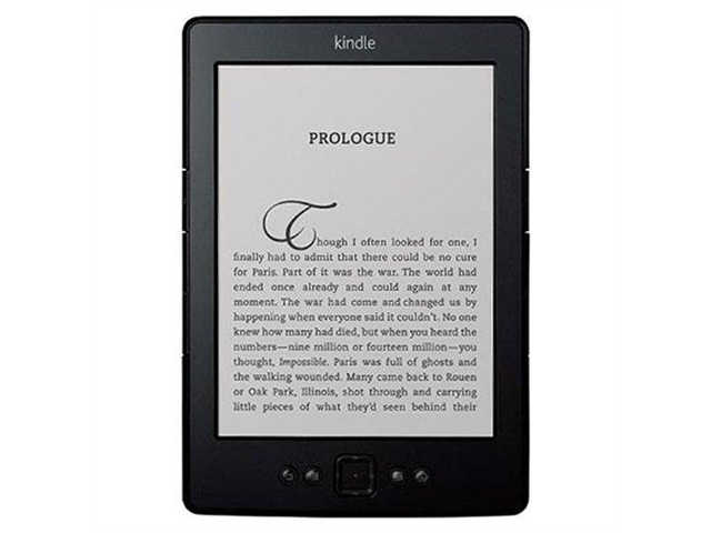 Refurbished: Amazon Kindle WiFi with Special Offers   Black - Newegg com