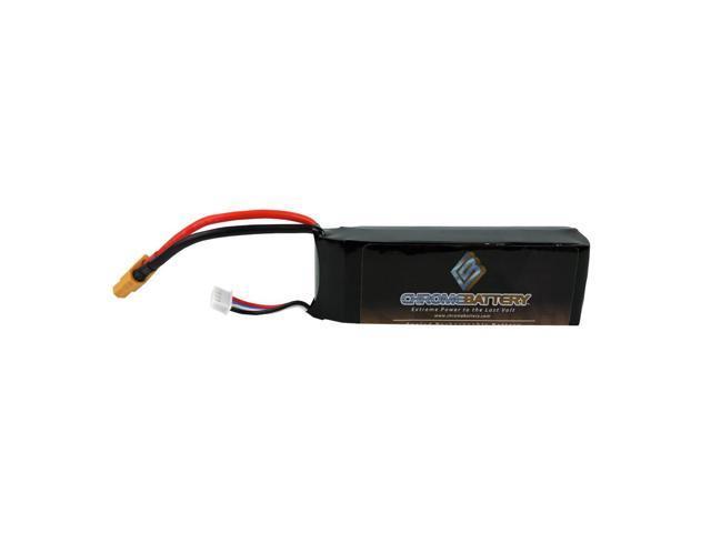 Tenergy 11.1V 3 Cell Blade 350 3S 2200mAh 25C LIPO Battery w// EC3 Connector