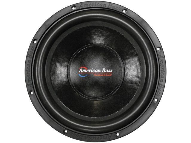 New American Bass Xd1222ab 1000 Watt 12 Inch Dual 2 Ohm Subwoofer ...