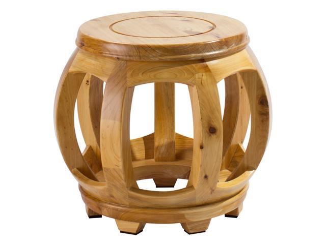 Pleasant Decorative Hardwood Birch Footstool Water Resistant Multipurpose Durable Sturdy Non Slip Surface Feet Wooden Round Step Stool For Living Room Andrewgaddart Wooden Chair Designs For Living Room Andrewgaddartcom
