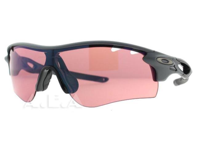Oakley Radarlock Path >> Oakley Radarlock Path Oo9181 04 Matte Grey W Iridium Lenses Sunglasses Newegg Com