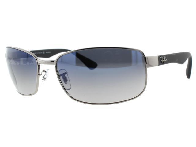 537e485620ea9 Ray Ban RB 3478 004 78 Black Rubber Silver RB3478 Polarized Sunglasses 60mm