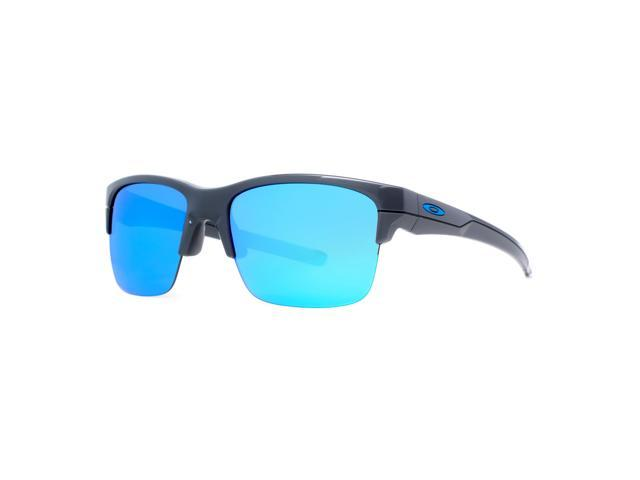 a6cd93f03f best price oakley polarised sunglasses 2ecb6 686b0  store oakley thinlink  oo9316 04 dark gray sapphire blue iridium mens sunglasses 63mm a559a 292a2