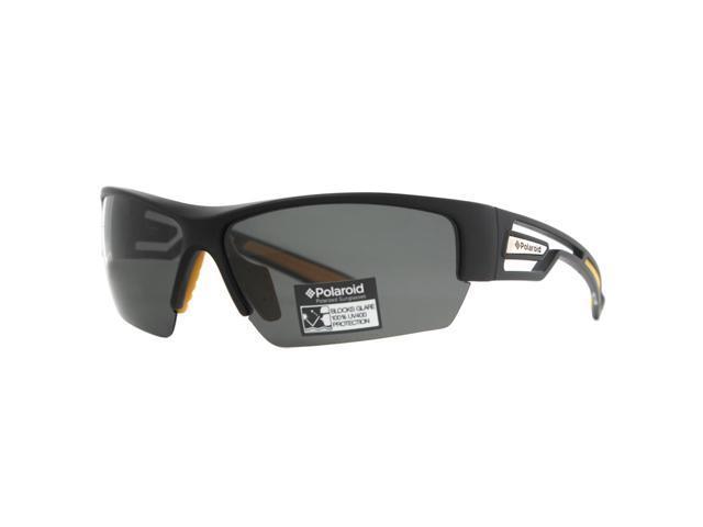 96120105918 Polaroid P 7410A 71C Y2 Black Yellow Men s Polarized Sport Sunglasses
