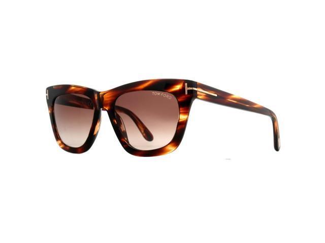 e6cf3e83f73 Tom Ford Celina TF361 50F Dark Havana Brown Gradient Women s Square  Sunglasses