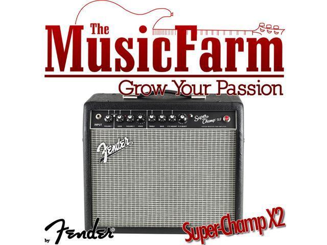 fender super champ x2 tube guitar combo amp. Black Bedroom Furniture Sets. Home Design Ideas