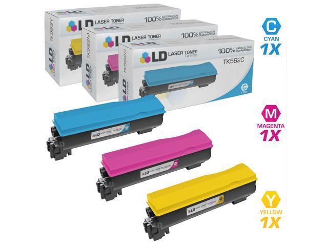 Compatible 2 Pack Black TK562K TK562 Toner for the Kyocera FS-C5300DN FS-C5350DN