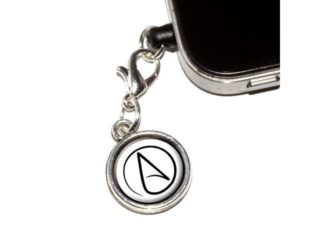 Atheism Atheist Symbol Universal Fit 35mm Earphone Headset Jack