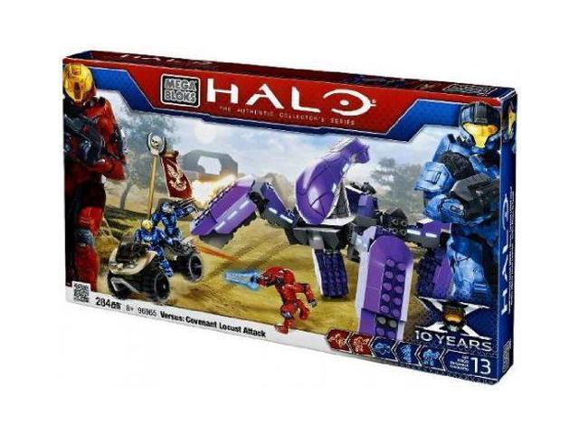 Mega Bloks Halo Anniversary Set 96965 Versus Covenant Locust Attack  Building Set - Newegg com