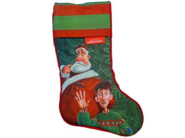 Arthur Christmas Santa.Santas Best Arthur Christmas Santa Stocking Holiday Decor Red Green Xmas Newegg Com