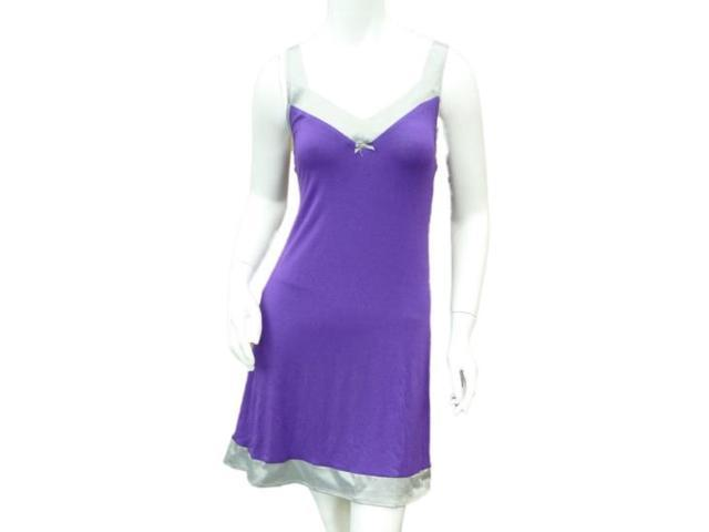 9e7fdbaad7 Covington Women Purple Gray Sleep Shirt Jersey Knit Nightgown Nightie  Chemise XL