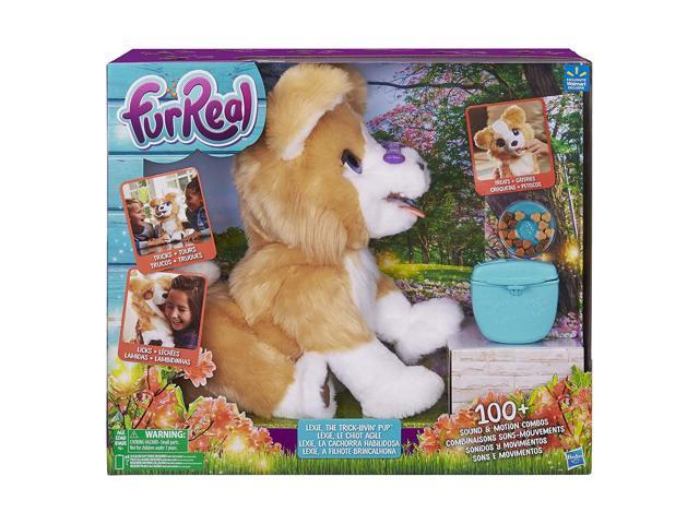 FurReal Friends Lexie the Trick-Lovin' Interactive Plush Fur Real Pet Puppy  Dog - Newegg com
