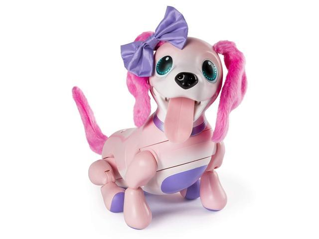 Zoomer Playful Pup, Responsive Pink Robotic Dog Interactive Electronic  Puppy - Newegg com