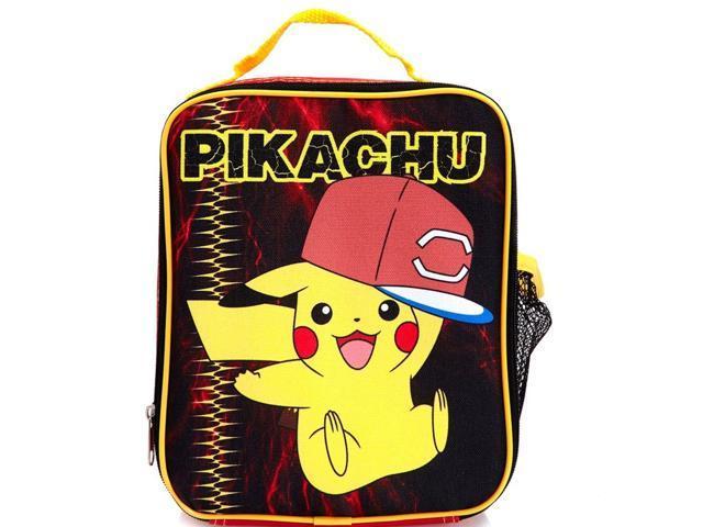 70d2b59b90e7 Pokemon Pikachu Red Hat Insulated Lunch Box Soft Lunch Bag - Newegg.com