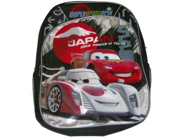 CARS 3D Backpack with LED light and sound of engine Disney Backpack School Trip