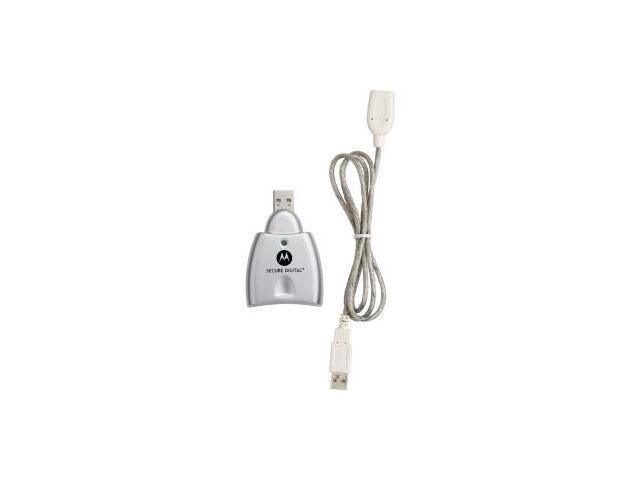 Motorola Sd Card Reader W Usb Cable Backwards Compatible Single Slot Hi