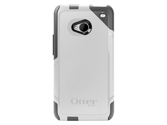 sports shoes e4cc5 eb7a6 OtterBox Commuter Case for HTC One (M7) - Glacier (WHITE/GUNMETAL ...