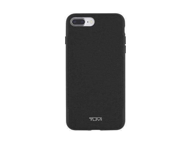 huge sale 928dd ef990 Refurbished: TUMI Coated Canvas Co-Mold Case for iPhone 8 Plus/7 Plus -  Black - Newegg.com