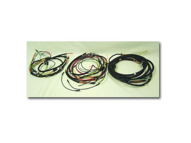 omix ada complete wiring harness horn on firewall with. Black Bedroom Furniture Sets. Home Design Ideas