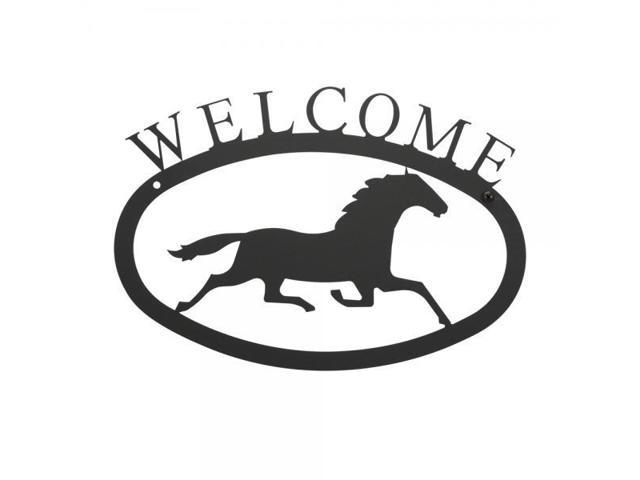 Running Horse Welcome Sign Large Newegg Com