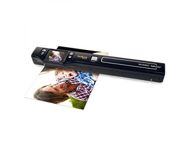 Vupoint Solutions Magic Wand Portable Scanner With Color Lcd Display Pds St470 Vp Newegg Com