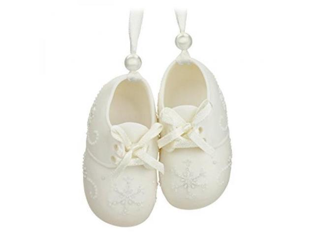 9aed7c0a7e58a Hallmark Keepsake Baby's First 2016 Baby Shoes Dated Holiday Ornament -  Newegg.com