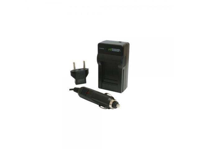 Wasabi Power Battery Charger for Panasonic CGA-S004 CGA-S004E DMW-BCB7 and Lumix DMC-FX2 CGA-S004A DMC-FX7