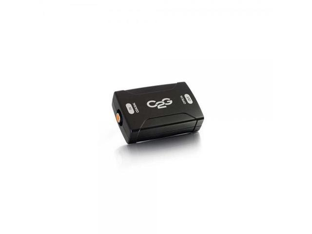 C2G Coaxial to Optical Digital Audio Converter 40018