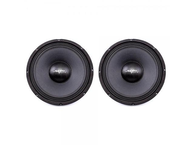 2 Speakers, 2 FSX10-4 Skar Audio FSX10-4 400-Watt 10-Inch 4 Ohm MID-Range Loudspeakers 2