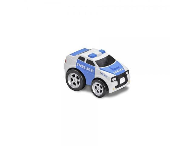 Kid Galaxy Squeezable Pull Back Police Car Toddler Emergency