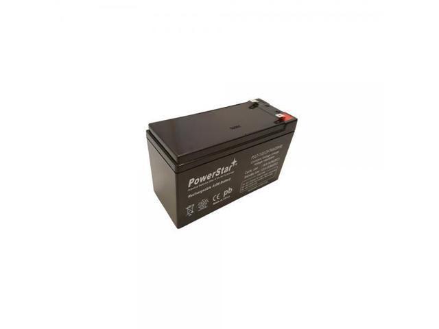 PowerStar Replacement Battery ML7-12 3YR WARRANTY 12 VOLT 7.2 AH SLA BATTERY