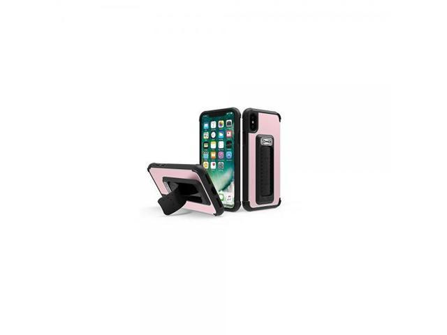 the best attitude 8769a bb7c2 Scooch Wingman 5-in-1 Case for the iPhone X (Rose Gold) - Newegg.com
