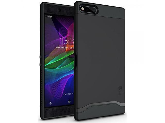 promo code bfa22 c9618 Razer Phone Case, TUDIA Slim-Fit HEAVY DUTY [MERGE] EXTREME Protection /  Rugged but Slim Dual Layer Case for Razer Phone (2017 Version) (Matte  Black) ...