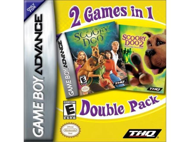 Scooby Doo Double Pack 2 Games In 1 Newegg Com