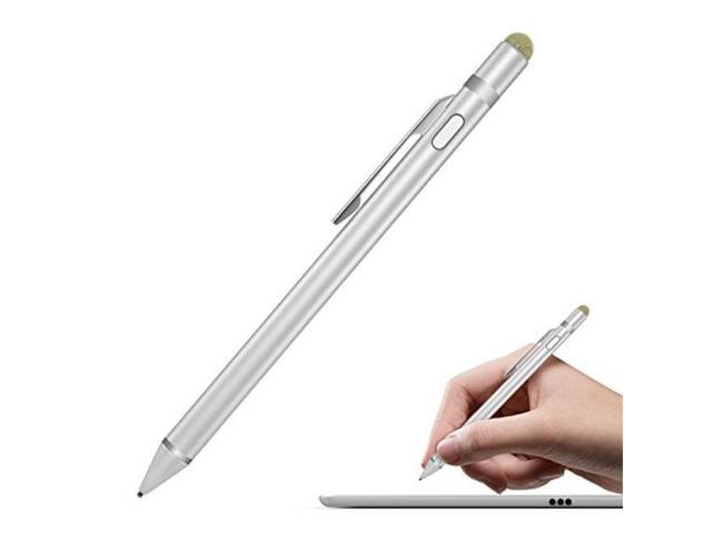 2in1 White Touch Screen Stylus Pen For iPhone iPad Smartphones Tablets Universal
