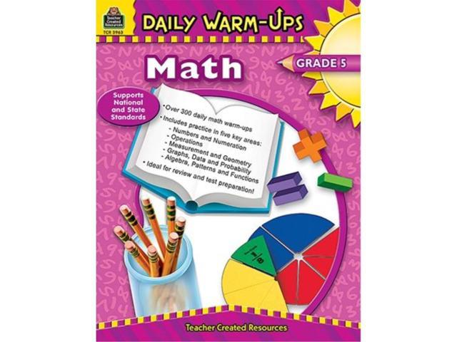 Daily Warm-Ups Math Gr 5 - Newegg com