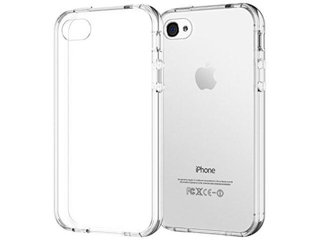 newest 9fd27 3a671 iPhone 4 Case, JETech® iPhone 4 4S Case Bumper Shock-Absorption Bumper and  Anti-Scratch Clear Back for Apple iPhone 4/4S - Newegg.com