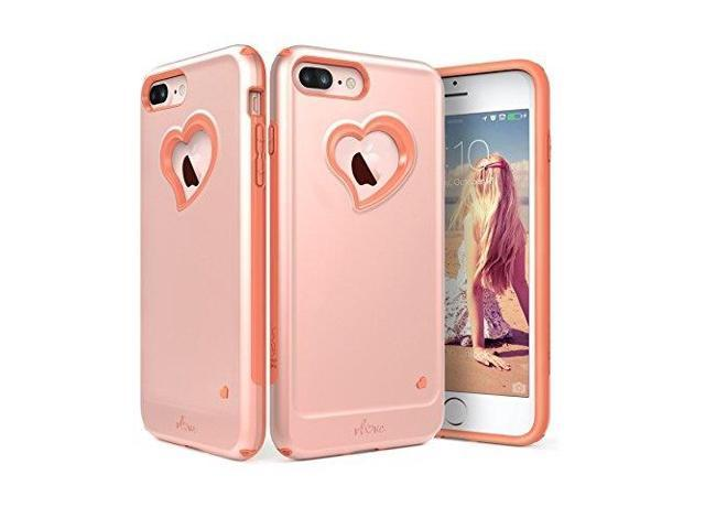 new products 57ad1 e1c99 iphone 8 plus case, iphone 7 plus case, vena vloveheartshape | dual layer  protection hybrid bumper cover for apple iphone 8 plus, iphone 7 plus 5.5