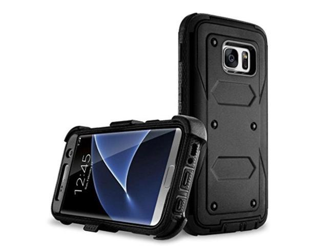 brand new 915e6 6c093 Galaxy S7 Edge case, Samcore Full body Protective Shock Reduction Belt Clip  Case With Rugged Holster, WITHOUT Built in Screen Protector for Samsung ...